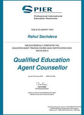 PIER_Certificate
